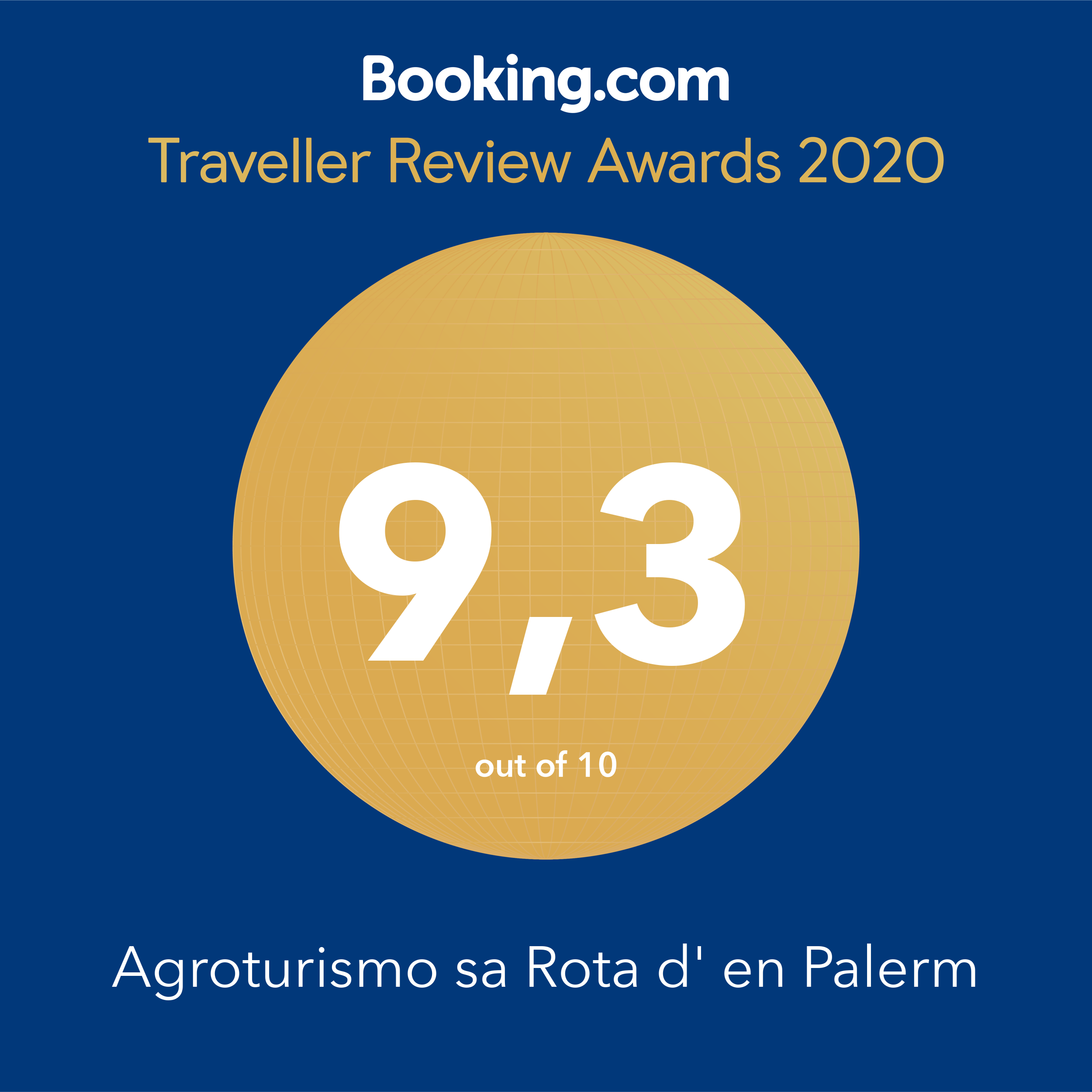 Booking traveller review awards Sa rota den palerm